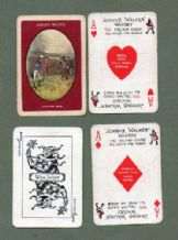 Collectible Advertising  playing cards Johnnie Walker Whisky